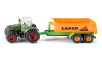 Siku traktor Fendt with Hook Lift and Trough (SIK-1989)