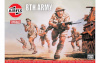 Airfix mängufiguur figurines WWII 8th Army