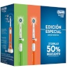 Braun hambahari Oral-B Pro 600 3D Cross Action DUO (oranž + roheline)