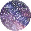 Popsockets telefonihoidja - PopTop Glitter Nebula for Base