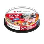 Agfaphoto toorik 1x10 AgfaPhoto DVD-R 4,7GB 16x Speed, Cakebox