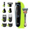 Braun habemepiiraja, juukselõikur, nina- ja kõrvakarvalõikur, keharaseerija, All-in-one Trimmer MGK5280, 7 attachments + Gillette Fusion ProGlide raseerija