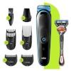 "Braun juukselõikur ja habemepiiraja ""Face&Head"" All-in-one trimmer MGK3245, 5 attachments + Gillette Fusion ProGlide raseerija"