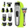 Braun habemepiiraja, juukselõikur, nina- ja kõrvakarvalõikur All-in-one Trimmer MultiGroom Kit MGK7220 + Gillette Fusion ProGlide raseerija