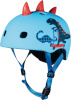 Micro kiiver PC Scootersaurus 3D cycling helmet, S-size