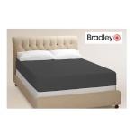 Bradley kummiga voodilina 140x200 antratsiit