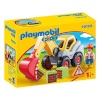 Playmobil klotsid 1.2.3 Shovel Excavator (70125)