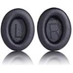 Bose kõrvaklappide pehmendused mudelile QC35/QC35II, must