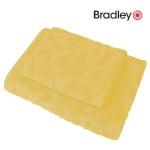 Bradley froteerätik 50x70cm muster, kollane