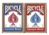 Bicycle cards League back