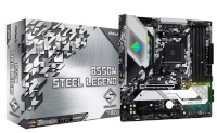 ASRock emaplaat Motherboard B550M Steel Legend AM4 4DDR4 HDMI/DP M.2 mATX