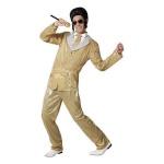 BGB maskeraadi kostüüm täiskasvanutele Elvis Kuldne, Suurus XL