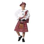 BGB maskeraadi kostüüm lastele Šotlane, Suurus 3-4 aastat