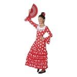 BGB maskeraadi kostüüm lastele Sevillalane Punane, Suurus 5-6 aastat