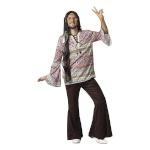 BGB maskeraadi kostüüm täiskasvanutele Hippie, Suurus XL