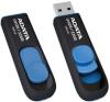 A-Data mälupulk DashDrive UV128 64GB USB 3.0 must+sinine