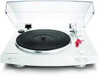 Audio-Technica plaadimängija AT-LP3WH Fully Automatic Belt-Drive Stereo Turntable, valge
