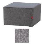 Sleepwell kokkuvolditava madrats-tumba RED katteriie, hall,  65x65x35cm