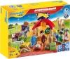 Playmobil advendikalender 1.2.3 Christmas Crib Advent Calendar 2021 (70259)