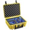 B&W GoPro Case Type 1000 Y kollane with GoPro 9 Inlay