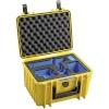 B&W GoPro Case Type 2000 Y kollane with GoPro 9 Inlay