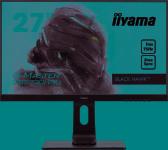 "Iiyama monitor Iiyama Gaming Monitor GB2760QSU-B1 C 27"", TN, 2560 x 1440 pixels, 16:9, 1 ms, 350 cd/m², Built-in speaker(s), must matte, HDCP; Headphone connector, Warranty 36 month(s)"