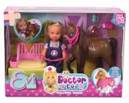 Simba arstikomplekt Evi Love Doctor Evi Welcome Horse (105733487038)