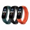 Xiaomi kellarihm Strap (3-Pack) Mi Smart 5 (must, oranž, roheline)
