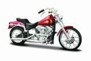 Maisto Maisto Motorcycle HD 198 4 FXST Softail punane 1/18