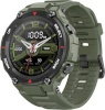 Amazfit aktiivsusmonitor T-Rex Smart watch, GPS (satellite), AMOLED Display, Touchscreen, Heart rate monitor, Activity monitoring 24/7, Waterproof, Bluetooth, Army roheline