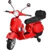 Actionbikes Motors mänguauto Actionbikes Vespa PX 150 punane Kids Electric Scooter