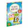 Alexander liivaga värvimise komplekt Sand Coloring Book Pig, Rabbit