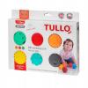 Am Tullo massaažipallid Sensoryczne Buźki 6 Szt. AM Tullo Kolorowe 462