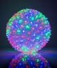 KL 50 LED bumbinas 2 color in 1 ball Multi Color