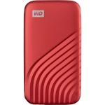 WD kõvaketas MyPassport 500GB SSD punane WDBAGF5000ARD-WESN