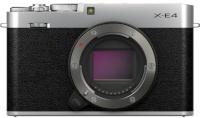 Fujifilm X-E4 kere hõbedane