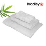Bradley bambusrätik 30 x 50 cm, helehall