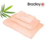 Bradley bambusrätik 30 x 50 cm, lõheroosa