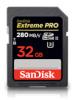 SanDisk mälukaart SDHC Extreme Pro 32GB UHS-II 280MB/s