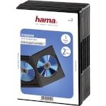1x5 Hama DVD-Double Jewel Case must 51294