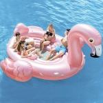 Intex ujumisalus Flamingo Party Island, 422 x 373 x 185 cm