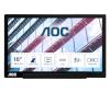 "Aoc International monitor Aoc I1601p 15.6"" Fhd IPS 60hz 5ms"