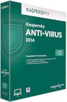 Kaspersky tarkvara Anti-Virus 2014 kahele kasutajale