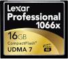 Lexar mälukaart CF 16GB 1066x Professional UDMA7