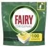 Fairy Fairy Original All in One'i nõudepesumasina tabletid Lemon, 100tk