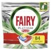 Fairy Fairy Platinum Plus All in One'i nõudepesumasina tabletid Lemon, 84 tk