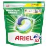 Ariel pesukapslid Ariel All-in-1 PODS Mountain Spring, 52 pesukorda