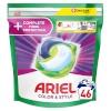 Ariel pesukapslid All-in-1 PODS +Fiber Care Protection, 46 pesu