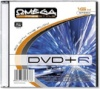 Omega Freestyle toorik DVD+R 4.7GB 8x CD-karp ühene, läbipaistev sisu