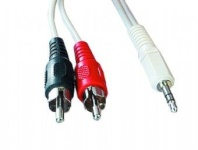 Gembird 3.5 mm stereo to RCA plug cable, 1.5 m